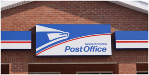 usps courier service post office